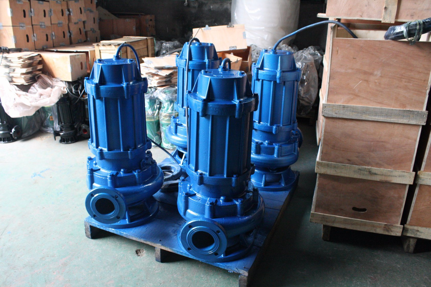 6Hz WQ Non-Clog Submersible Sewage water pump