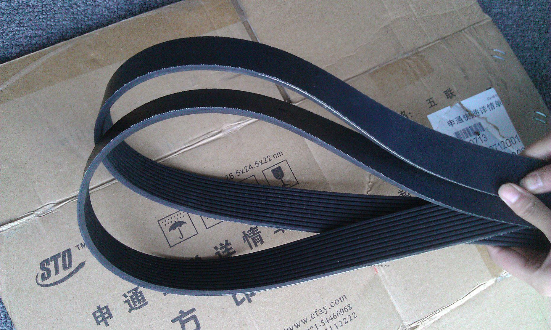 High Tensile Strength Pk V Belt for Sewing Machine 4pk1110