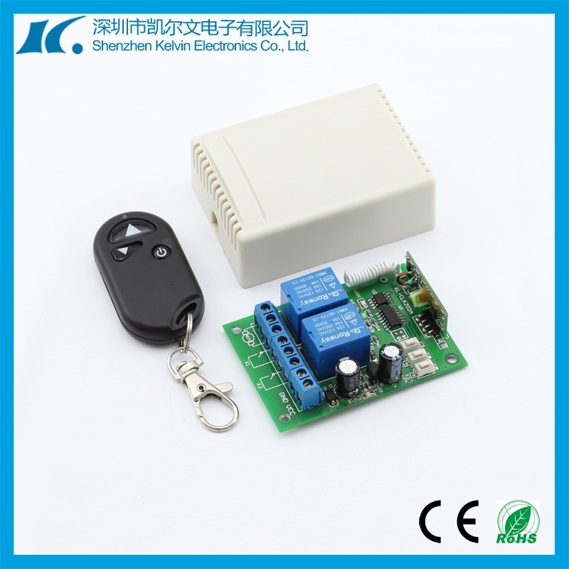 2-Channel Auto Curtain Remote Controller Kl-Clkz02b