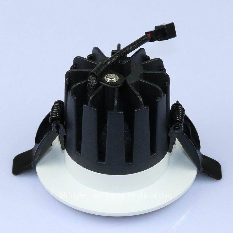 Aluminum COB Recessed LED Ceiling Down Light (Cutout 75mm)