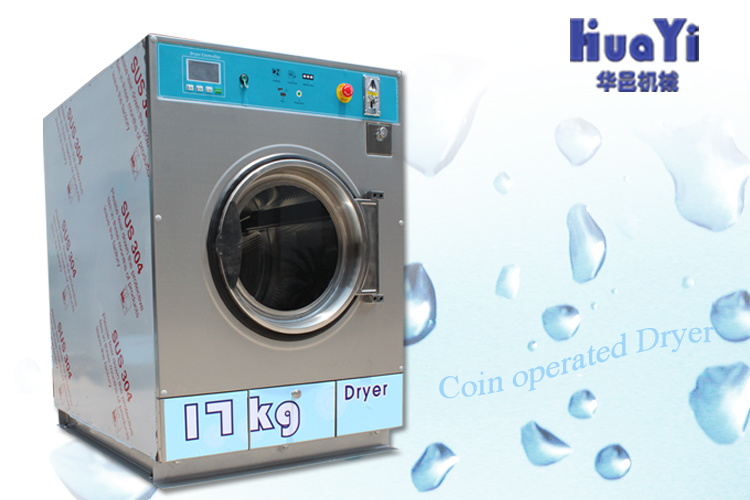 Industrial Stainless Steel Coin Operated Drying Machine Price, Self Service Washing Machine for Sale