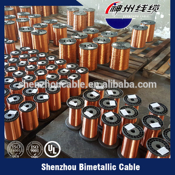Class 220 Enameled Copper Clad Aluminum Wire (ECCA)