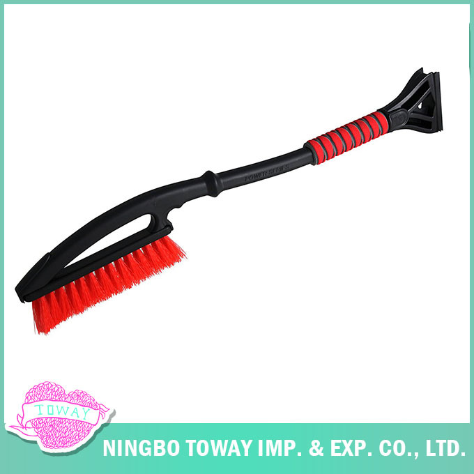 Soft Bristle Ice Scraper Telescoping Best Car Snow Brush