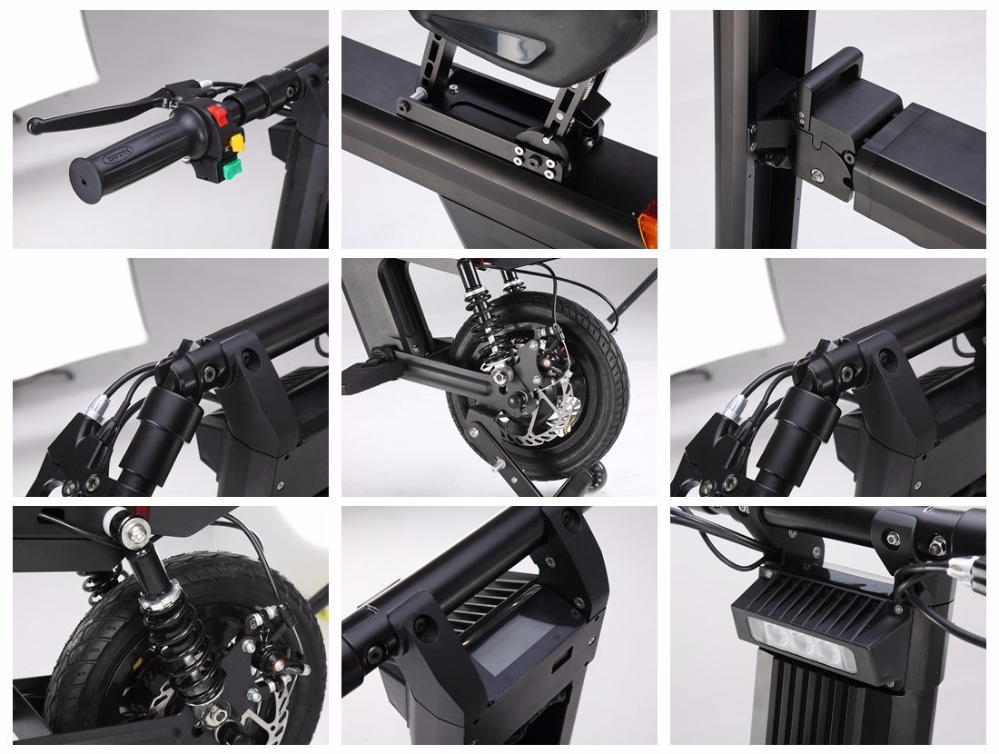 Unique Design Folding Ebike with Ce FCC RoHS
