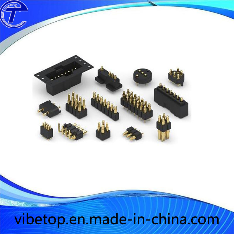 Hot Sale Customized Style Gold Plating Spring Loaded Connector