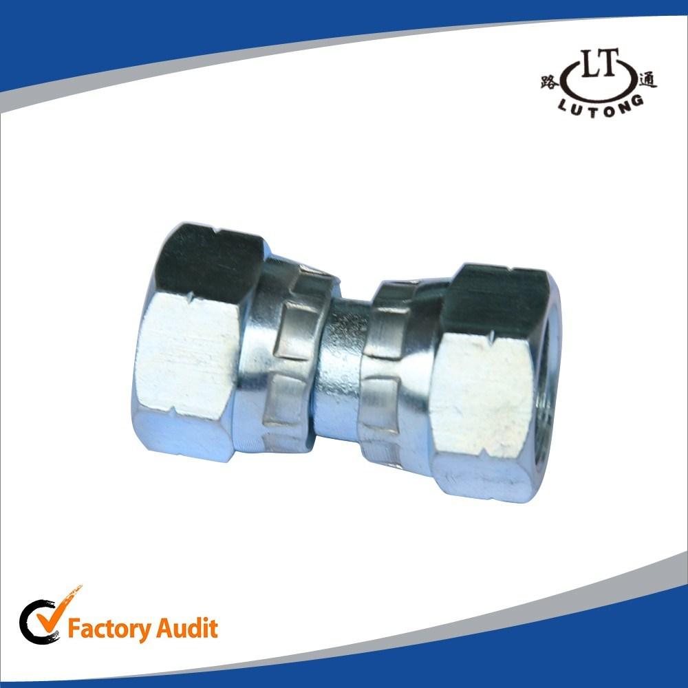 Jic Male 74 Degree Tee Hydraulic Pipe Fittings Adapter