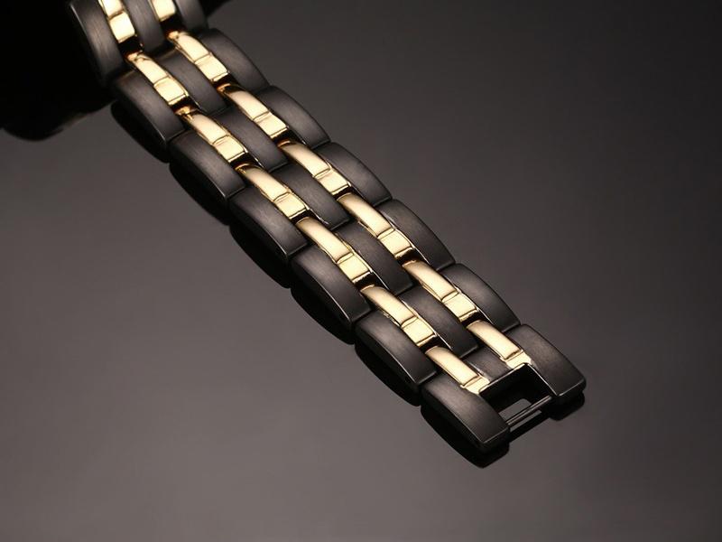 Power Sports Bracelets for Men Energy Black Color 10114