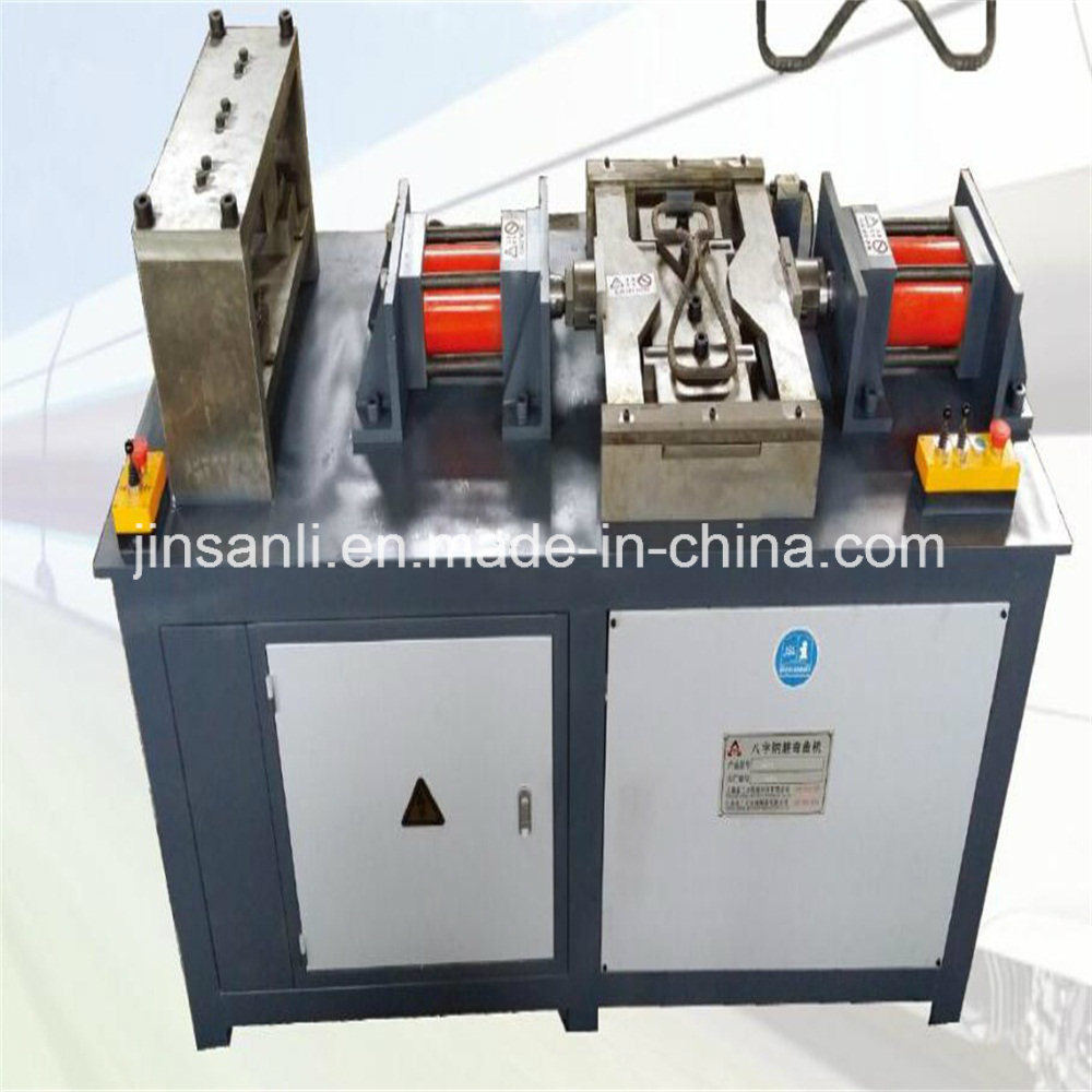 8-Shaped  Steel Bar Forming Machine Used in Tunnel Railway Construction