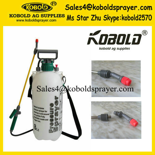 Kobold High Quality 8L Plastic Hand Pressure Sprayer