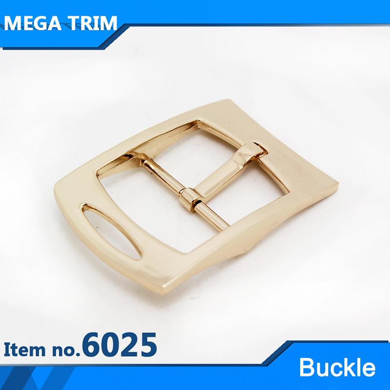 Light Gold Pin Roller Metal Buckle