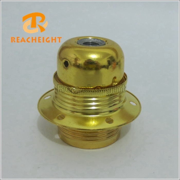 E26 E27 Lamp Socket Metal Iron Light Bulb Holder