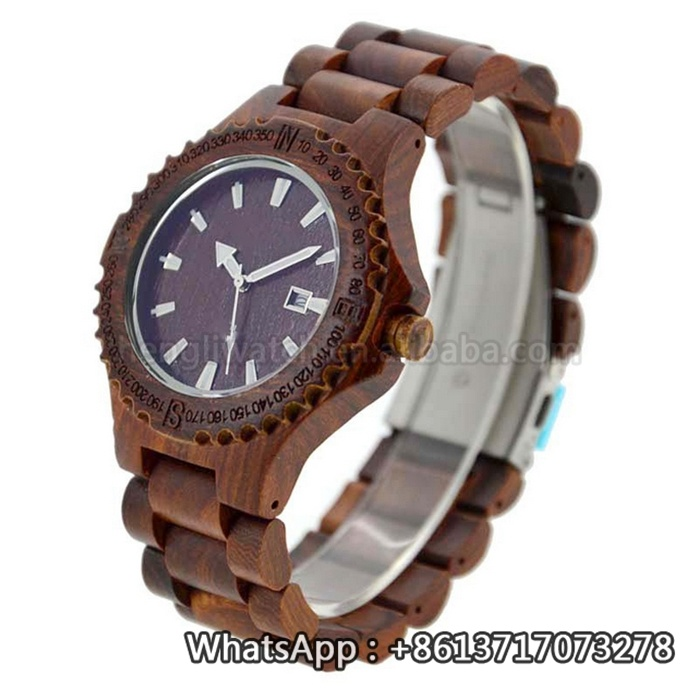 New Environmental Protection Japan Movement Wooden Fashion Watch Bg161