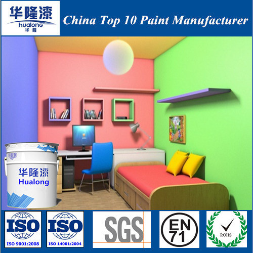 Hualong Colorful Emulsion Wall Paint/Coating