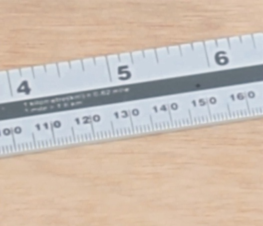 "High Quality Measuring Tools 1000mm (40"") Aluminum Ruler"