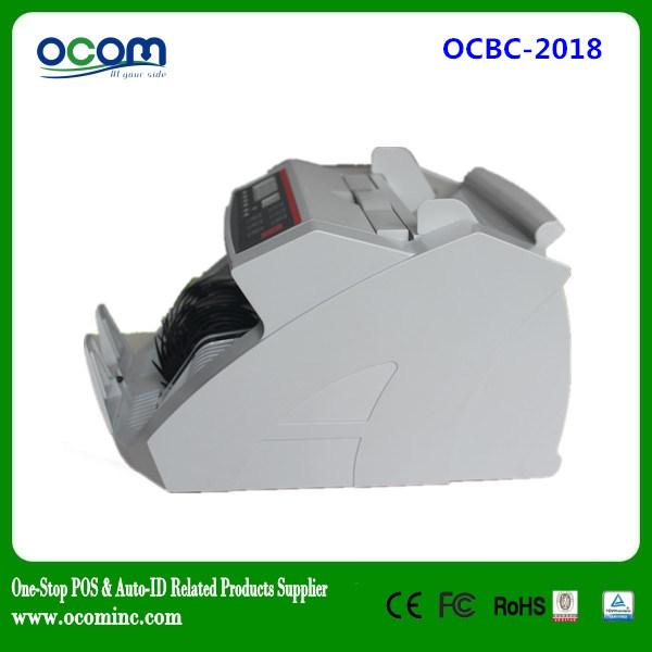 Ocbc-2108 Used UV Lamp Paper Money Detector Counter