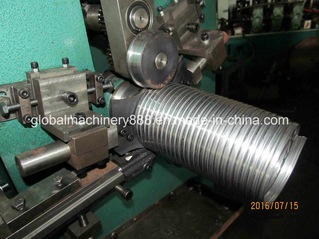 Flexible Exhaust Hose Making Machine