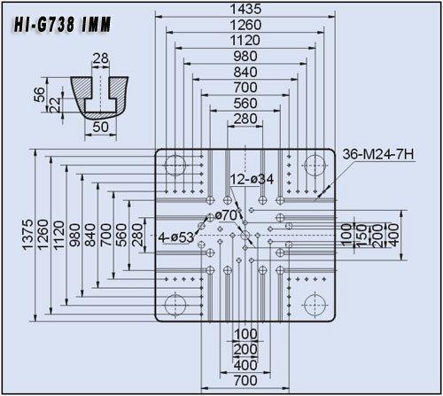 738t Plastic Injection Molding Machine Hi-G738