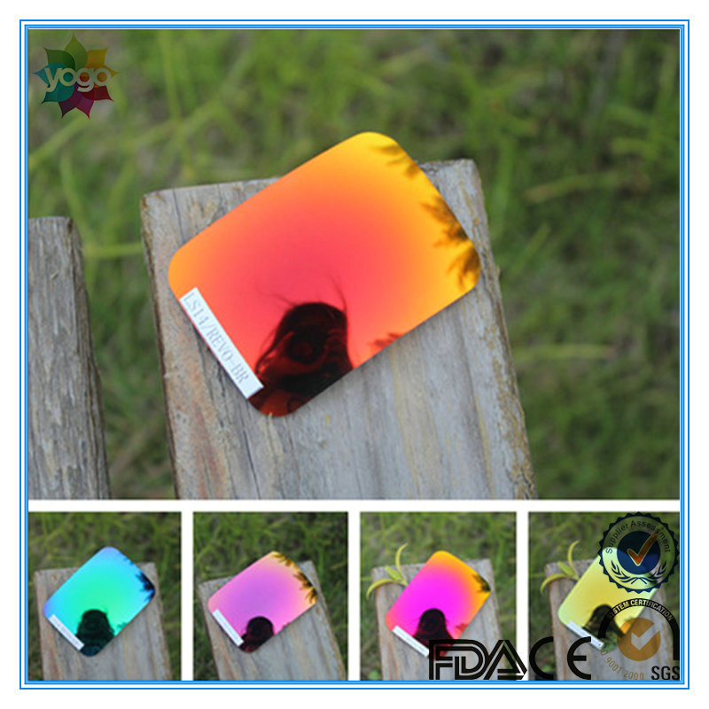 Pass En/an/as Standard Anti-Scratch Tac Polarized Sunglasses Mirror Lens