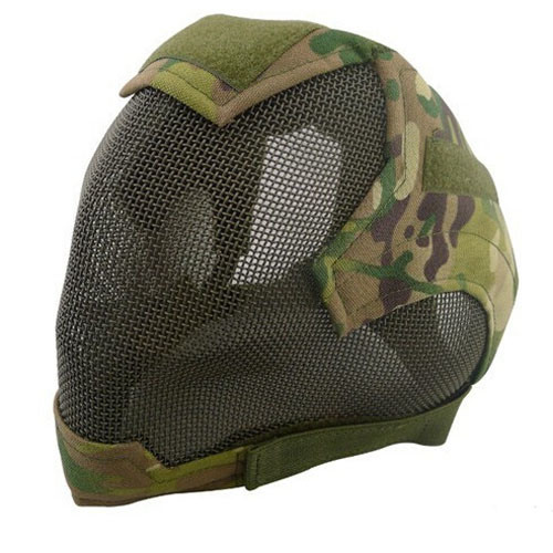 China Wholesale V6 Strike Wire Mesh Full Face Airsoft Mask