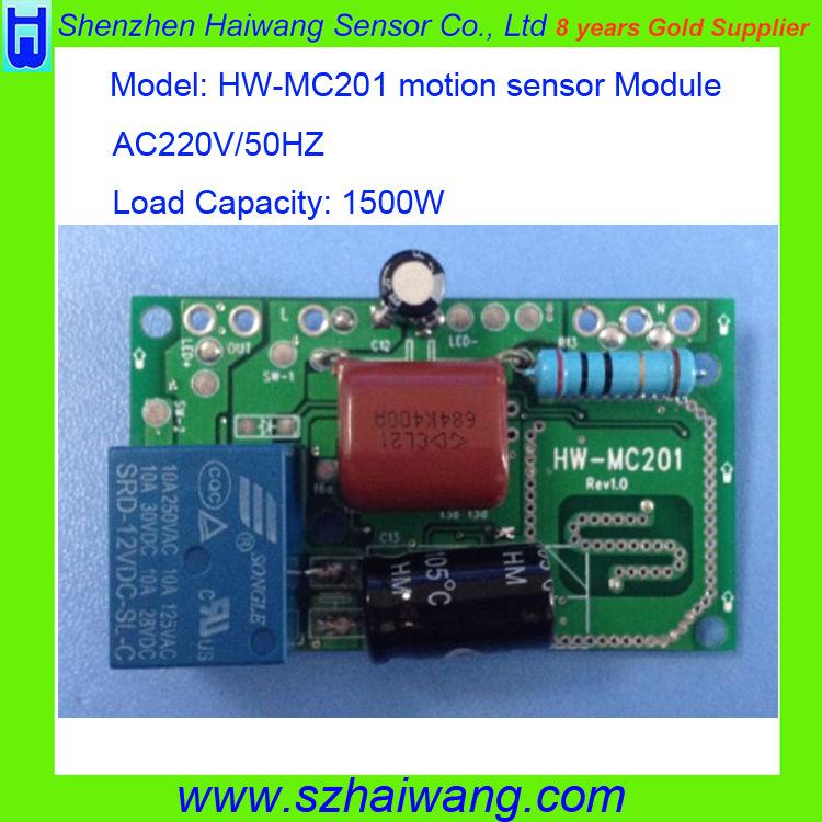 1500W Microwave Radar Module as PIR Replacement (HW-MC201)