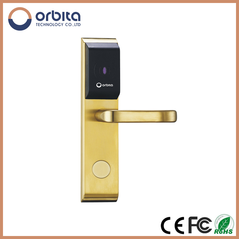 High Safe China RFID Smart Factory Price Orbita Digital RFID Card Hotel Lock