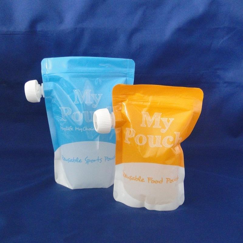 Stand up Zipper Bag Aluminum Foil Packaging Food Bag