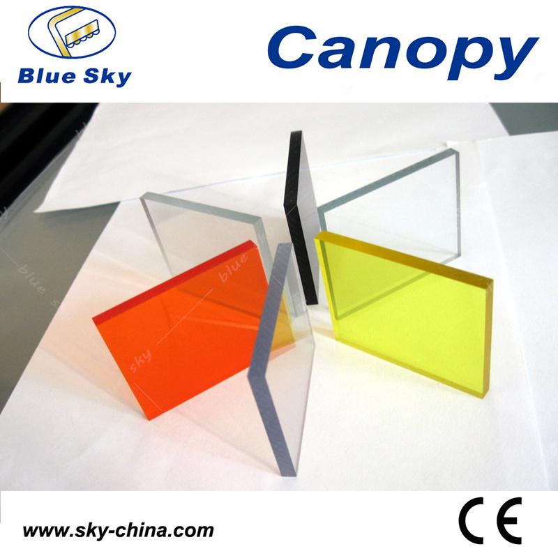 Waterproof Fiberglass Roof Stainless Steel Canopy (B900-1)