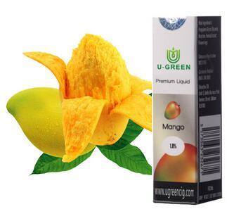 Sweet Juicy Mango Flavor Vaping E-Liquid with FDA TUV RoHS Reach Approved