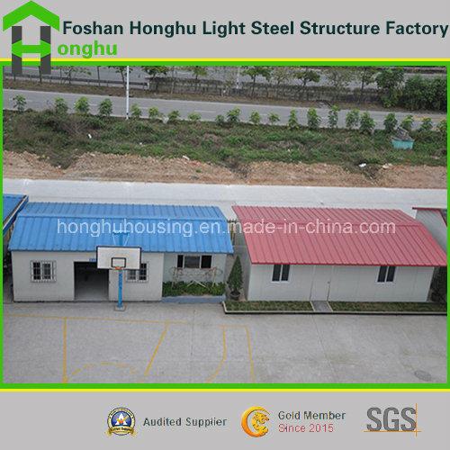Prefabricated House Single Storey Prefab Home Steel House Villa