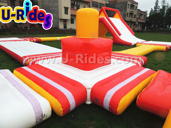Floating Inflatable Water Game Water Park on Sea