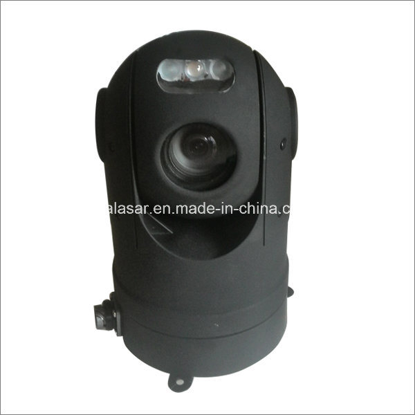 360degree Rotation and Waterproof IP66 Vehicle-Mounted Dome PTZ 36X Zoom Camera with Laser Light