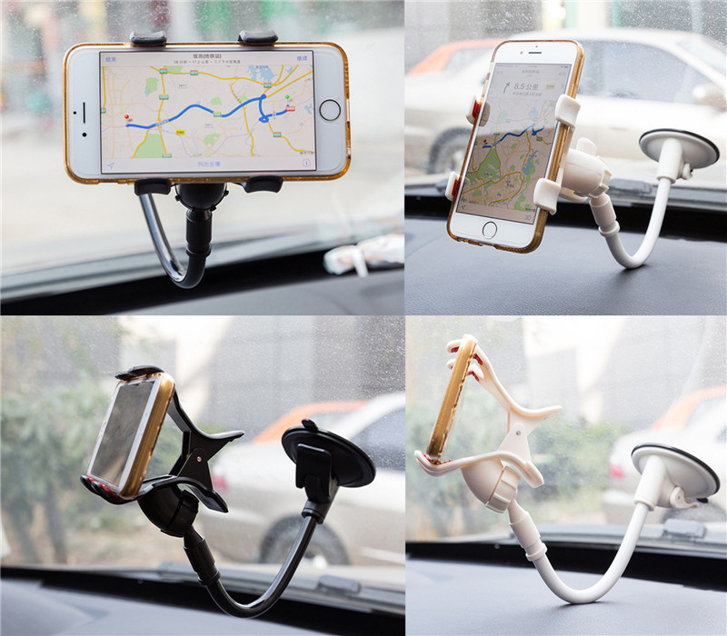 Long Arm Universal Car Mount Holder Windshield Car Holder for Mobile Phone Holder