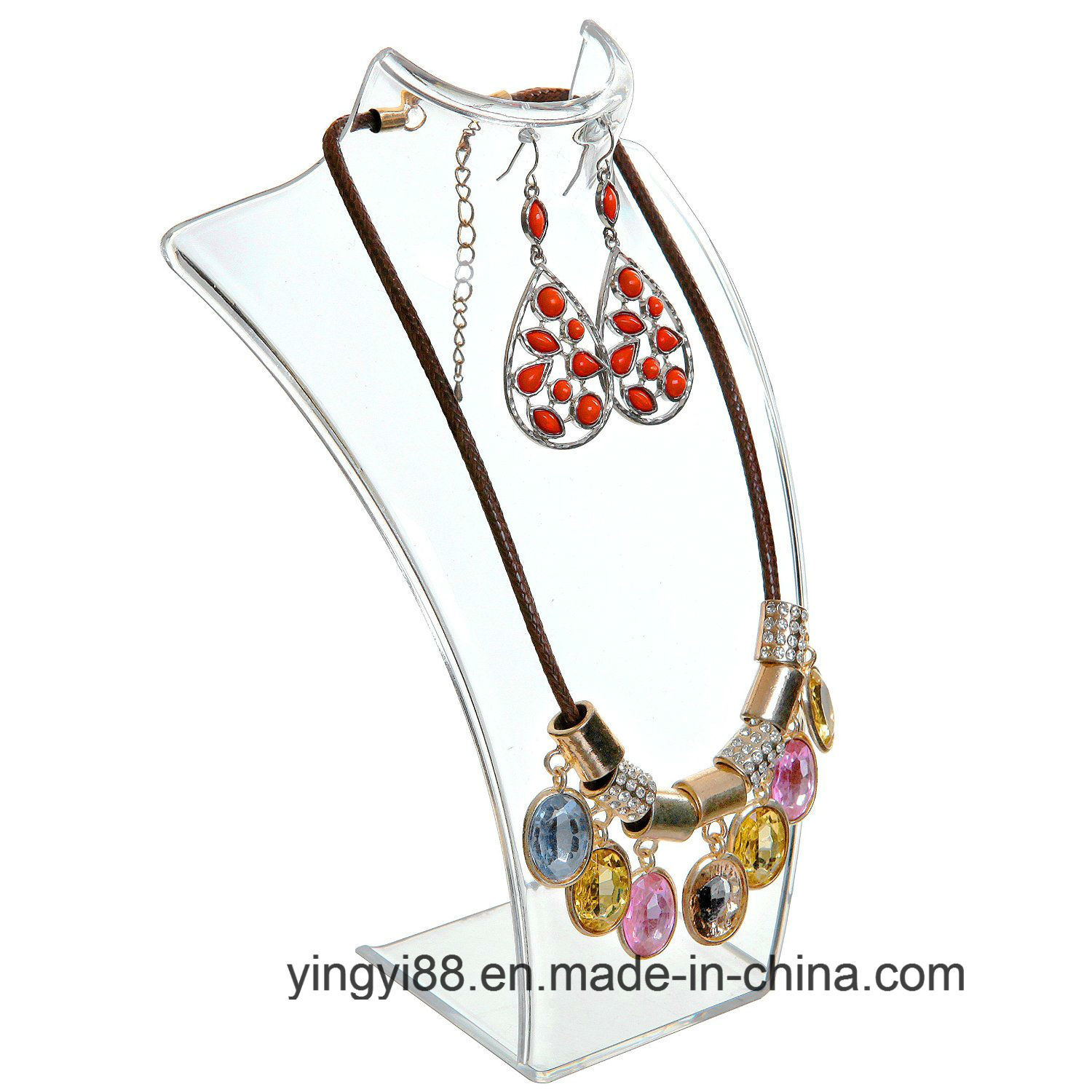 Factory Direct Sale Acrylic Jewelry Display for Necklaces