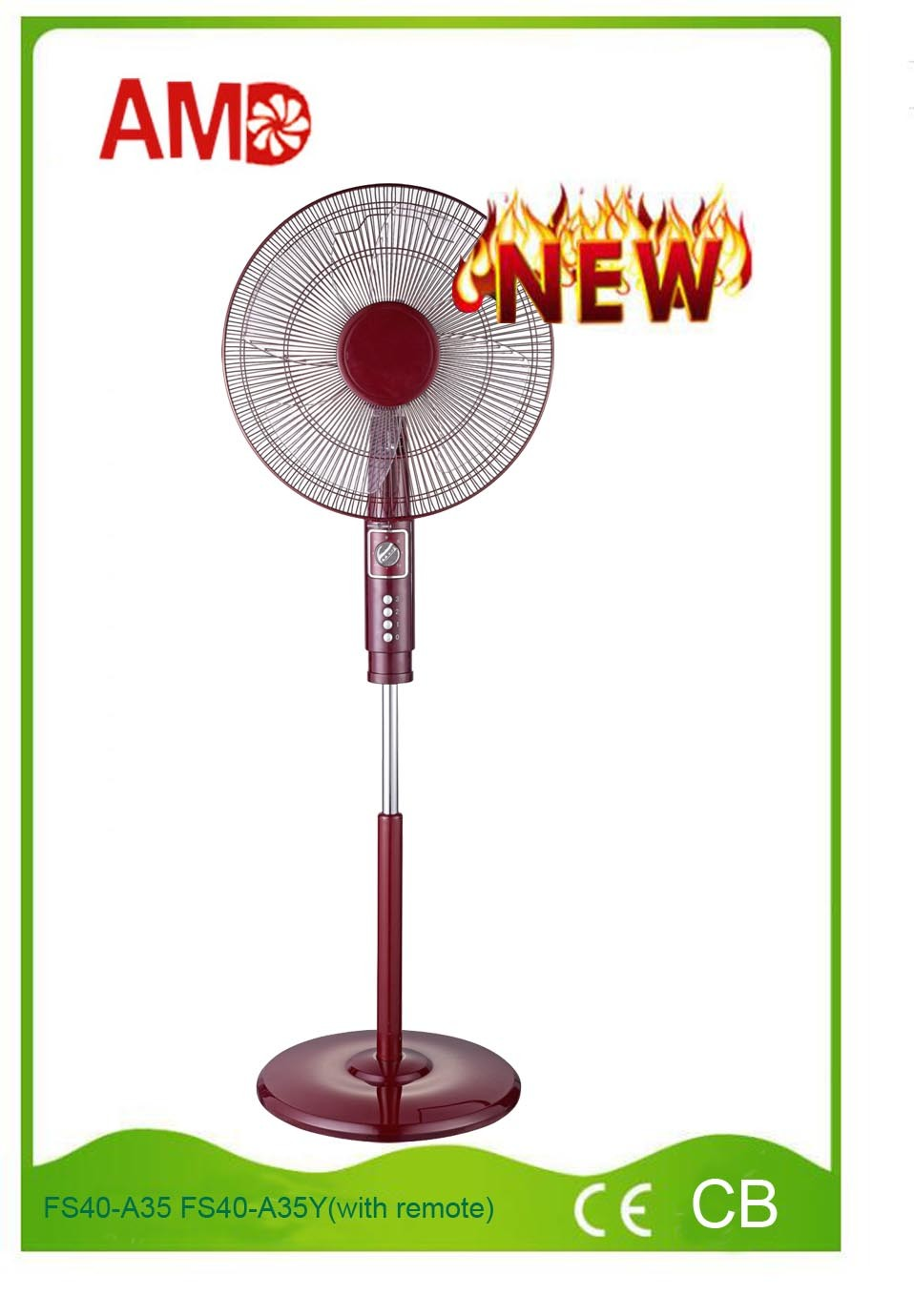 Hot-Sale Good Design Pedestal Fan with CE Approved (FS40-A35)