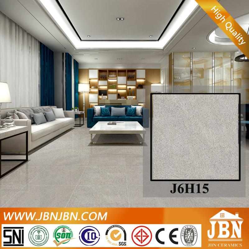Grey Color Full Body Nano Polished Floor Porcelain Tile (J6H15)