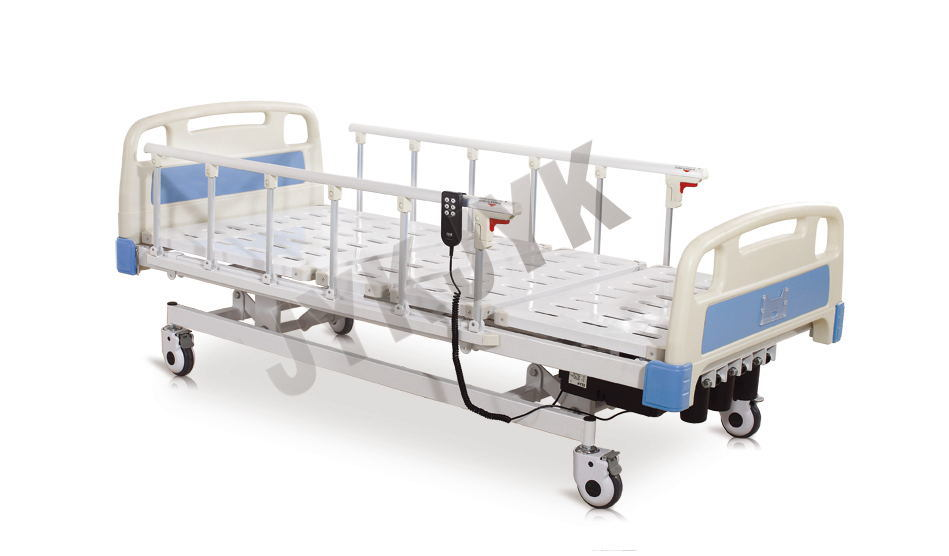 Electric and Manual Hospital Bed with Three Functions