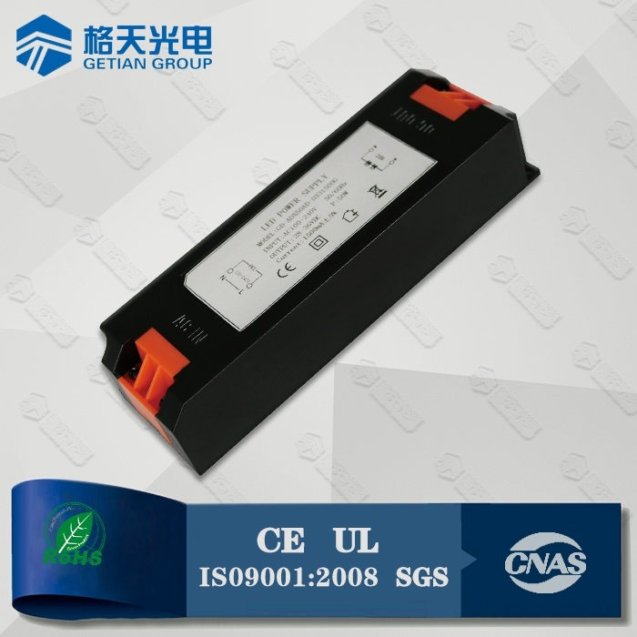 5 Years Driver Manufacturer Non-Flicker CE UL Lised 30-42V 1050mA 40W LED Driver
