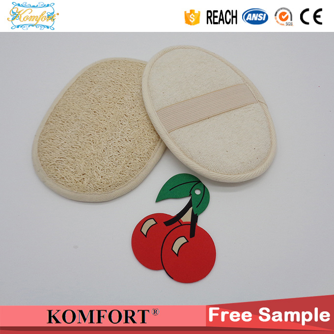 Natural Loofah Disposable Loofah Bath Pad Sponge Wholesale