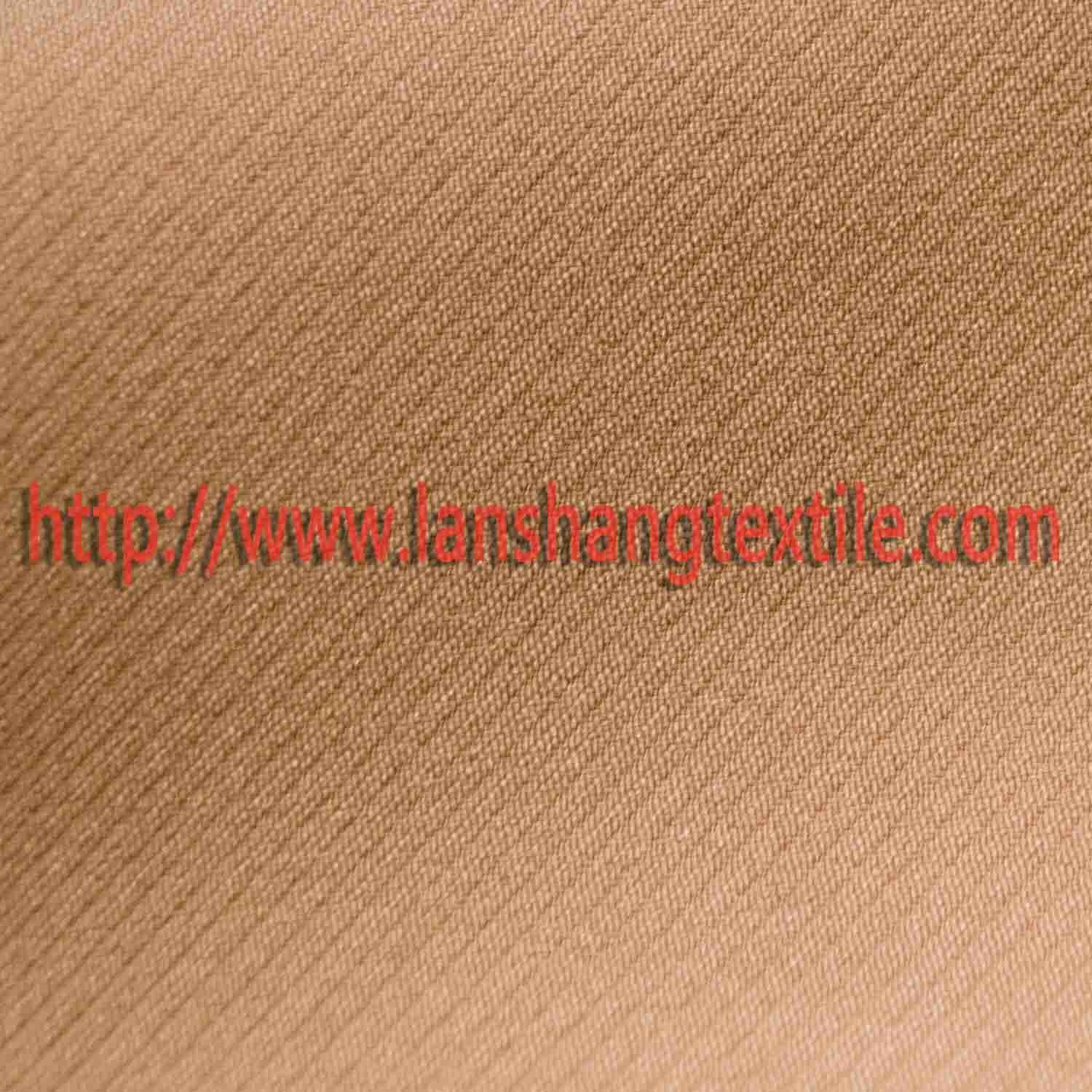Dyed Spandex Chemical Fiber Polyester Fabric for Woman Dress Coat