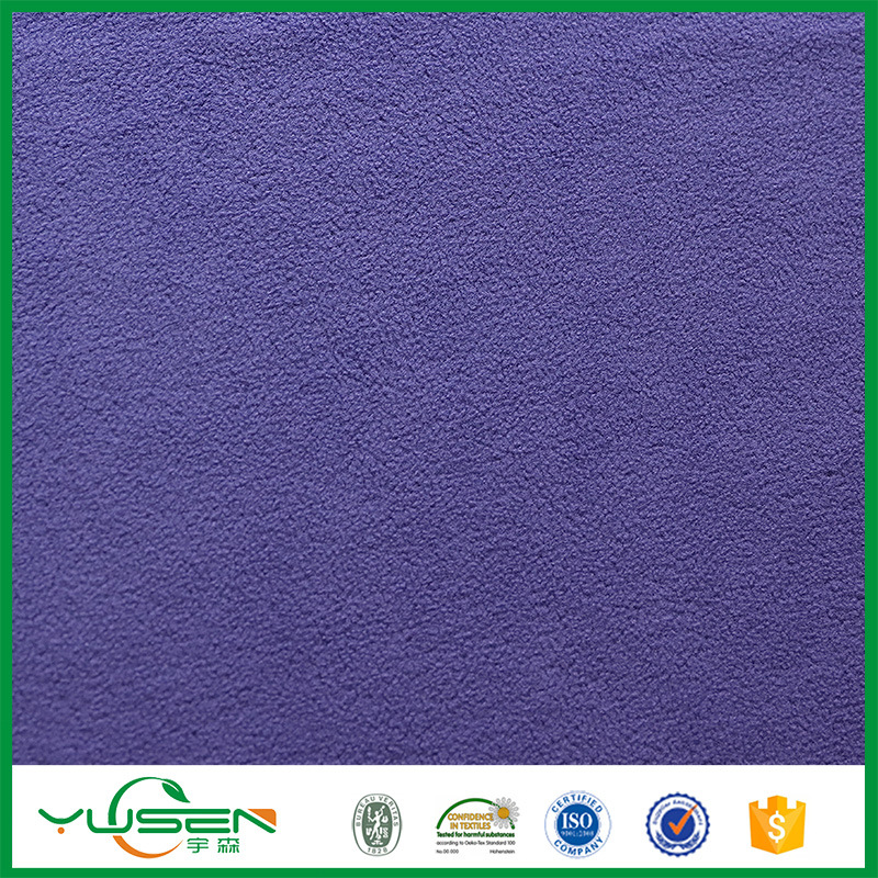 China Alibaba Top 10 Manufacturers Fabric Grid Thick Polar Fleece