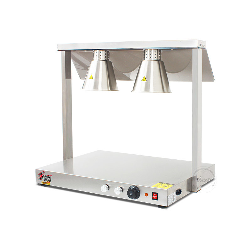Four Head Stainless Steel Food Warming Lamp Lh-04