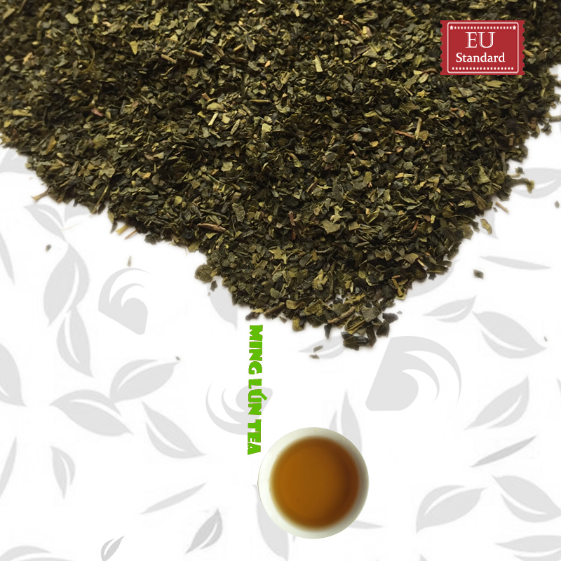 Slimming EU Standard Green Tea Fanning