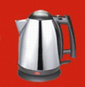 Stainless Steel Cordless Kettles of 360 Degree Swivel Base with Strix Control