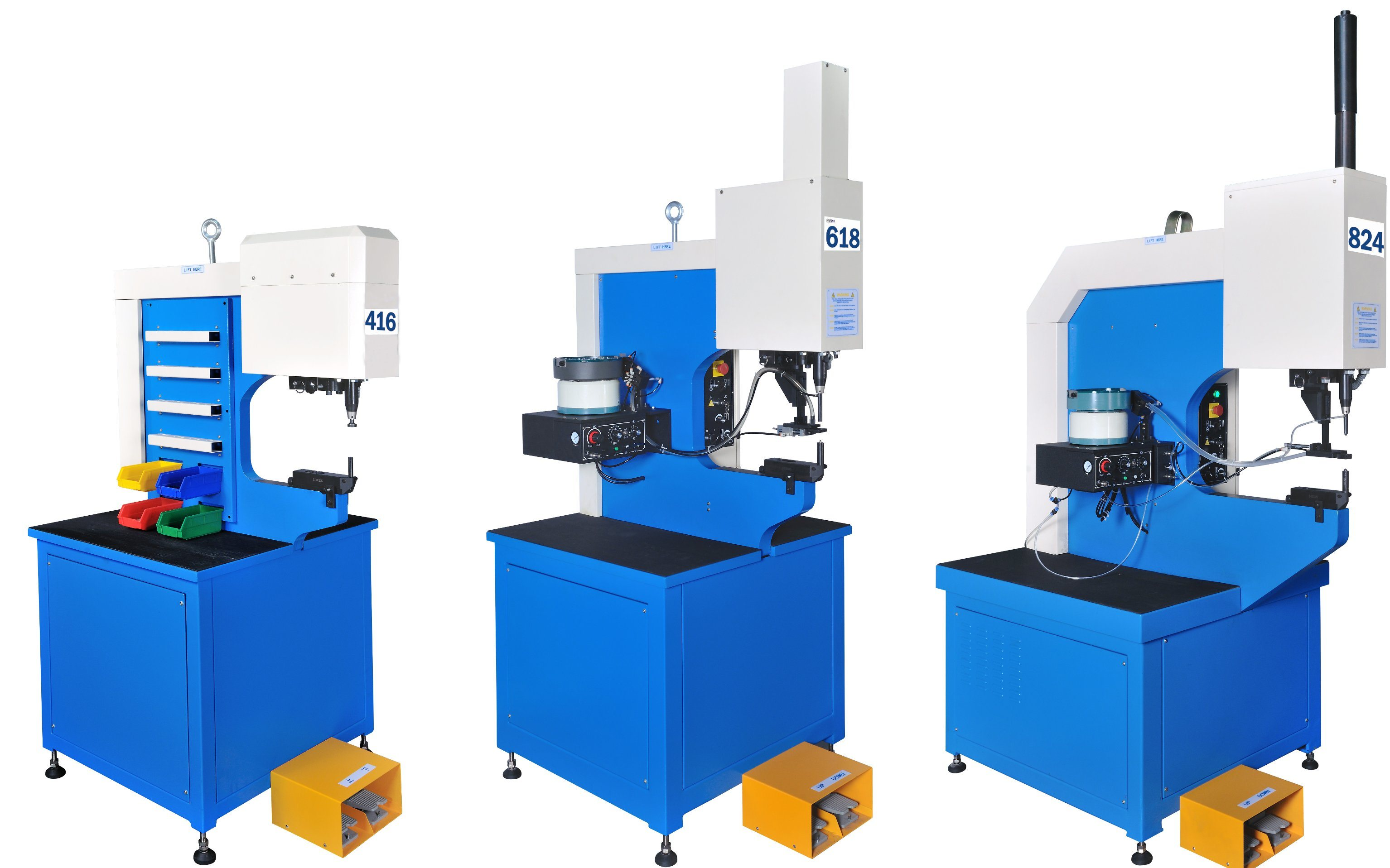 Fastener Insertion Press with Hydraulic (similiar with Haeger′s machine)