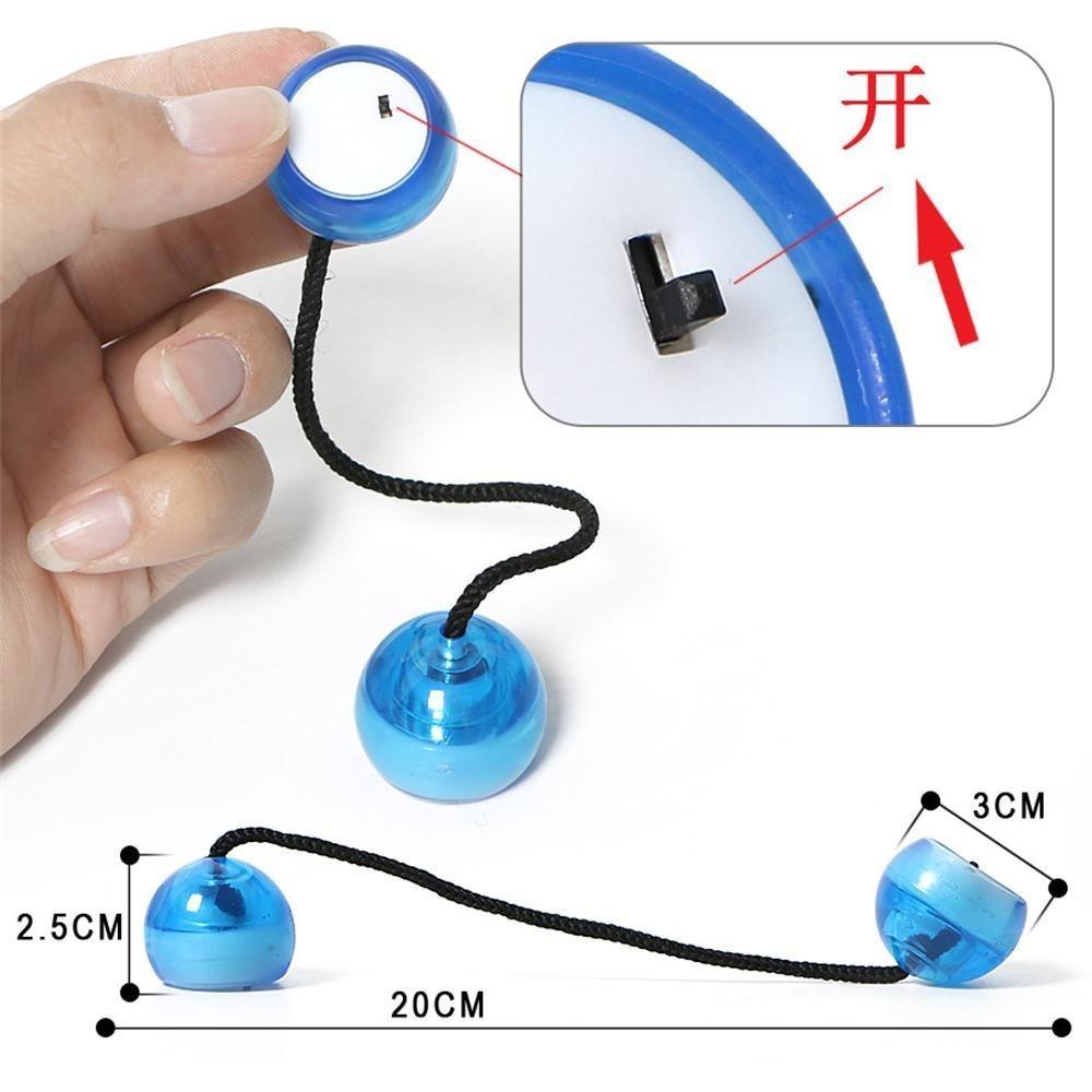 LED Glow Hand Fidget Yo Ball Finger Ball