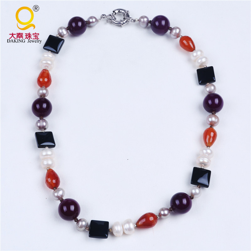 Fashion Stone Necklace Jewelry