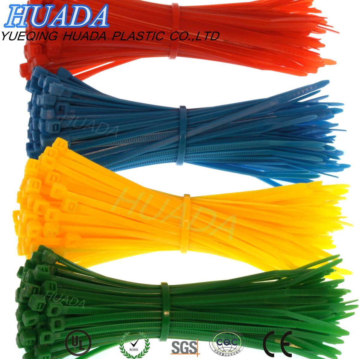 100-Pack Heavy Duty Cable Zip Tie Down Strap Wire Nylon Wrap