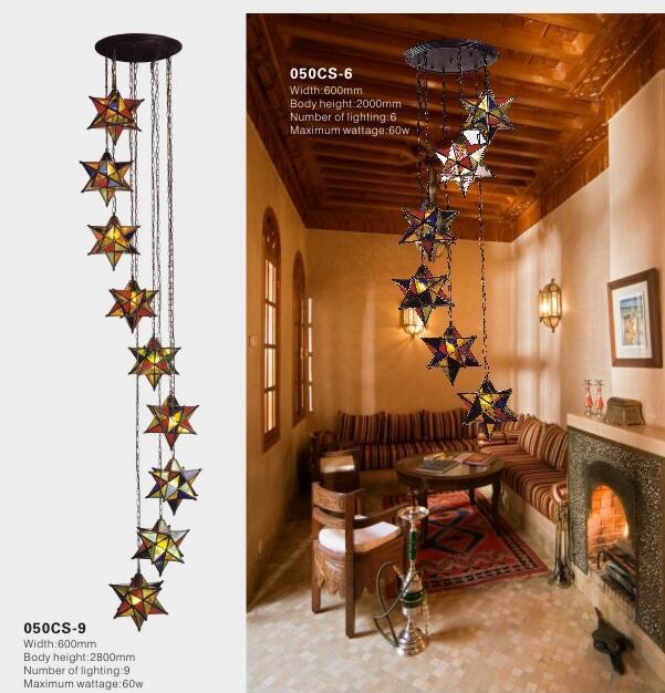Moroccan Church Decor Brass Pendant Lights (KA050DS)