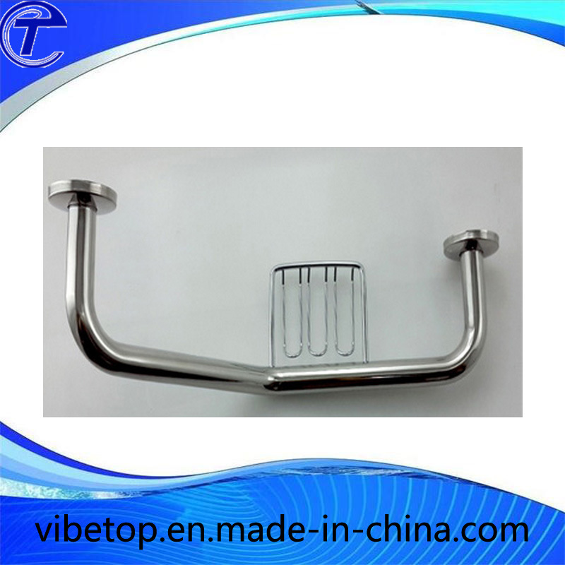 Bathtub Safety Handle Grab Bar with Soap Holder