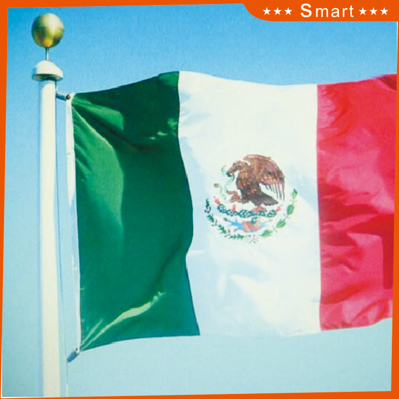 Custom Waterproof and Sunproof National Flag Mexico National Flag